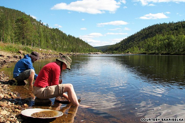 Where to Look for Gold in a Stream or River