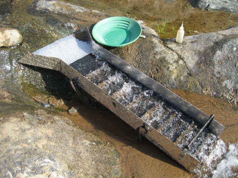 How To Use A Sluice Box The Prepared Idiot