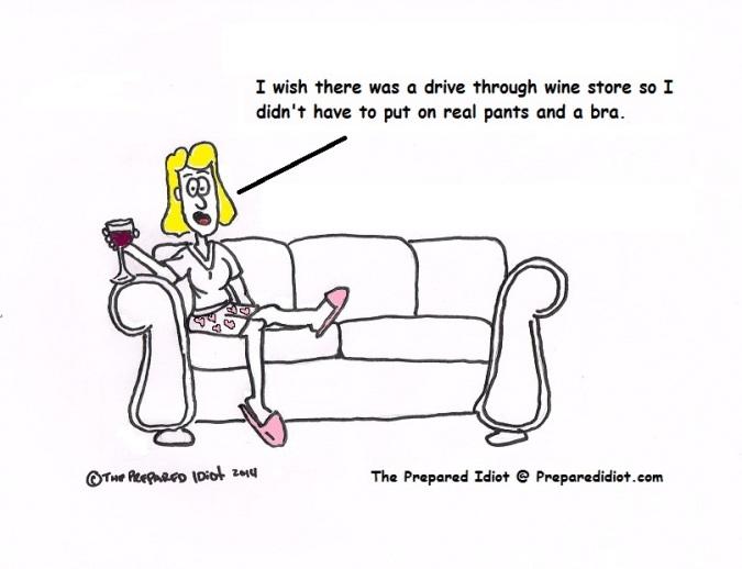 Wine drive through
